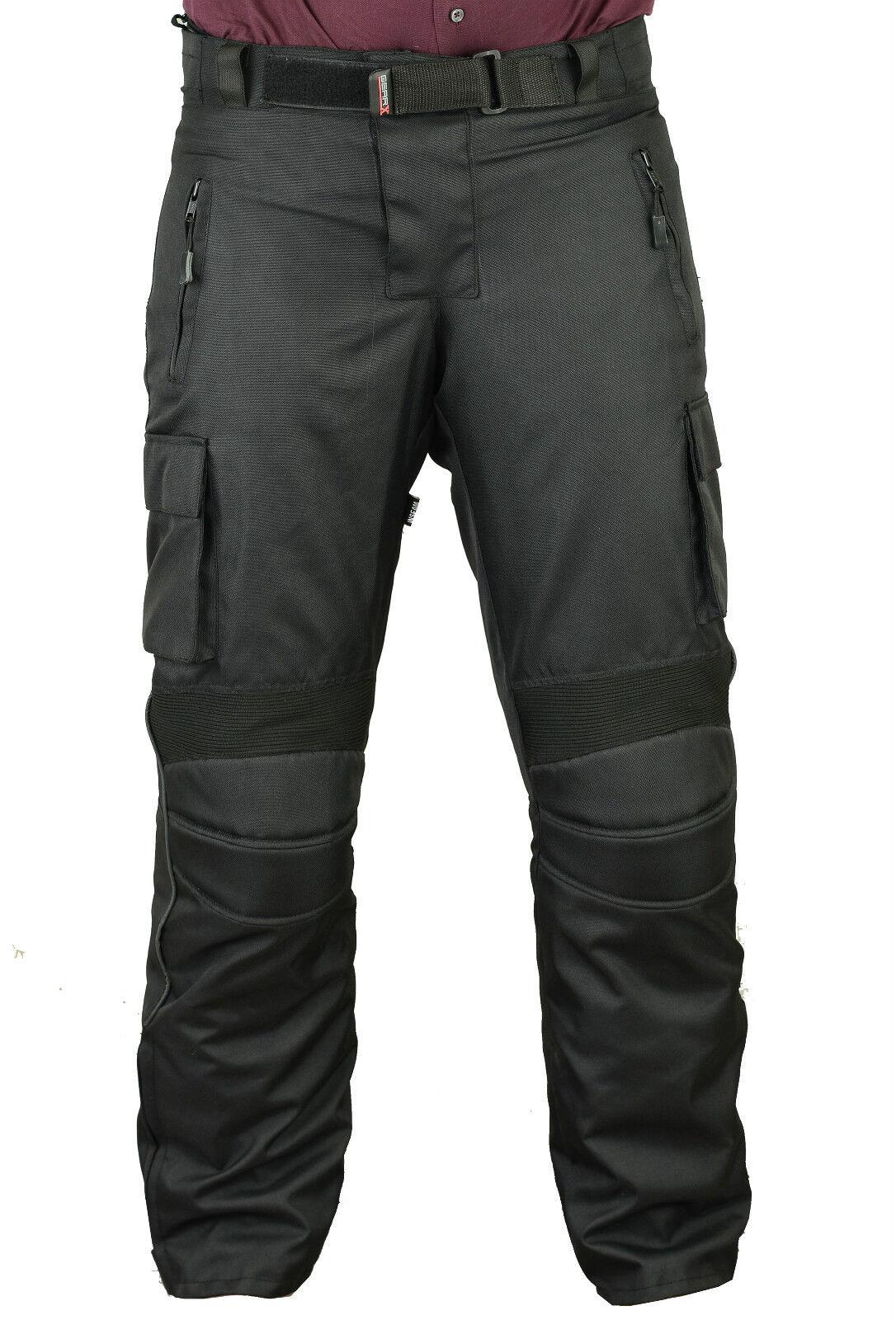 Gearx Impermeabili Motocicletta Pantaloni Uomo Protezione Pantaloni