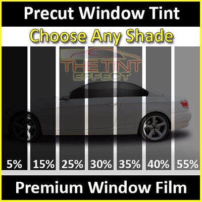 PreCut Window Film 5/% Limo Tint for Chevy Silverado,GMC Sierra Crew 2007-2014