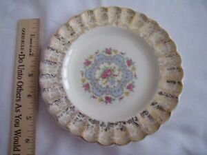 LIMOGES-LYRIC-Small-PLATE-6-1-4-inch-round