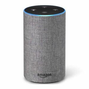 Amazon-Echo-2nd-Gen-B0749WVS7-Smart-Speaker-w-Alexa-Heather-Gray