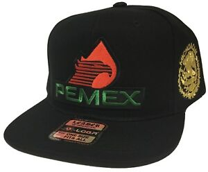 d0bf83e78ff51 Image is loading PEMEX-MICHOACAN-MEXICO-LOGO-FEDERAL-2-LOGOS-HAT-