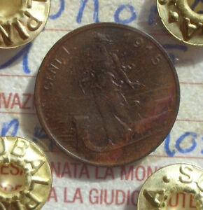 REGNO-D-039-ITALIA-PRORA-1-CENT-1915-RAME-ROSSO-SIGILLATA-FDC-NUMISMATICA-SUBALPINA