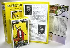 "Rider-Waite® Tarot Premier Edition 78 card deck 17""x20"" spreadsheet 36p booklet"