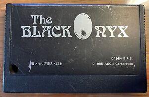 ASCII The Black Onyx MSX Game