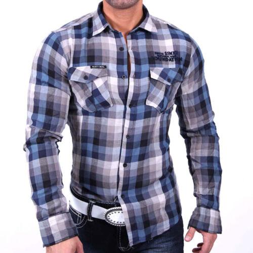 Rusty Neal camicia alla moda nel karodessin di ITALY 963