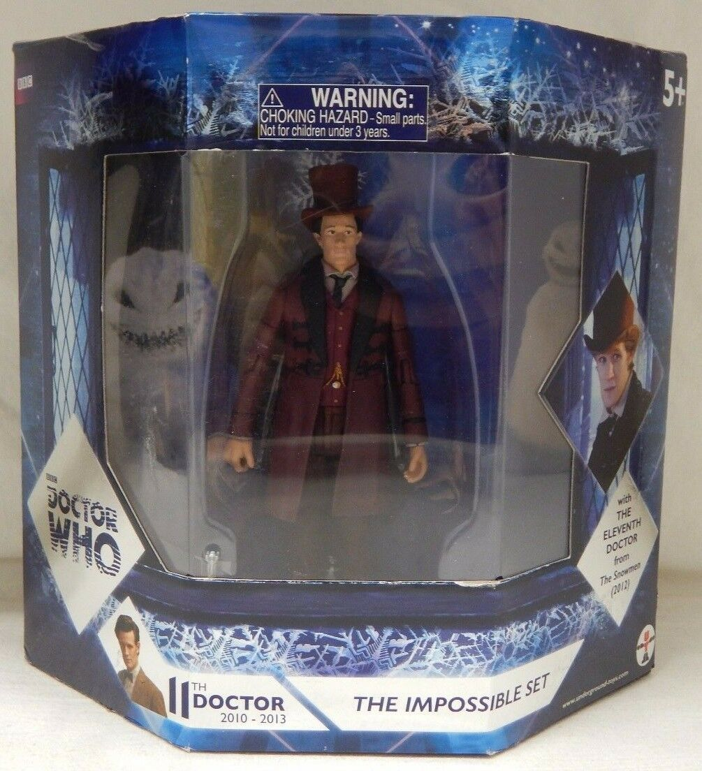 Doctor Who THE IMPOSSIBLE SET  ELEVENTH DOCTOR & CLARA OSWALD FIGURE SET New