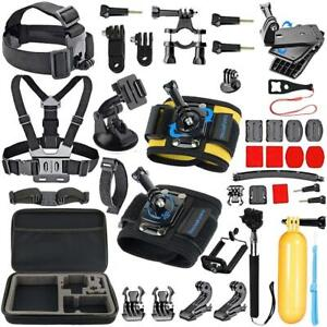 Details about GoPro Hero 7 6 5 White Black Silver go pro 7 Accessory Kit  NEW 2018 Camera Set