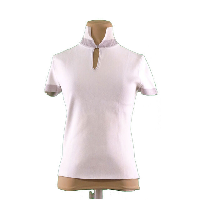 Anteprima Tops Blouses White Grey Woman Authentic Used L589