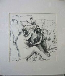Marino-Marini-Lithograph-Limited-Edition-Women-1960