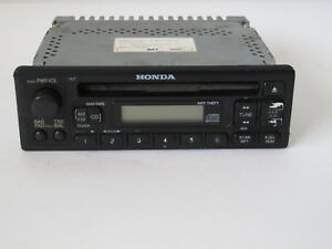 details about factory honda car cd am fm radio honda model 39100 s01 a300