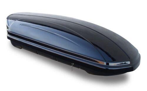 Coffre de toit 320 litres rambarde porteur alu skoda Fabia Combi 5j à partir de 08 75kg verrouillable