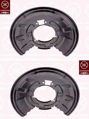 92-99 Ankerblech Spritzblech Hitzeschutzblech Satz hinten BMW E36 Coupe Bj