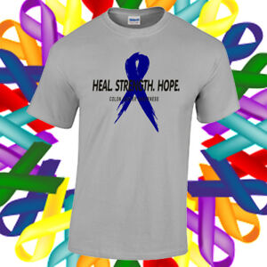 Colon Cancer Awareness Shirt Cancer Awareness Ribbon T Shirt Ebay