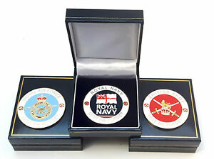 Full-Set-Of-3-Military-Crested-Commemorative-Collectors-Coins-Gift-Boxes