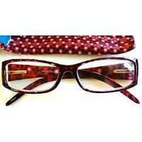 Foster Grant Magnivision Multi-color Frame Glasses (m89) Choose Your Strength