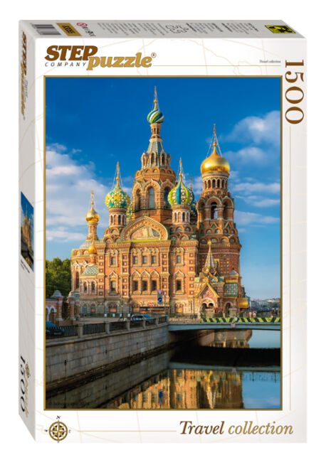 RUSSIA: Church of the Savior on Blood (St Petersburg): Jigsaw puzzle 1500 NEW
