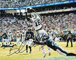 Brandon Marshall signed New York Jets 8X10 photo picture poster autograph RP