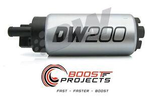 DeatschWerks 255 LPH In-Tank Fuel Pump w/ 05-10 Scion TC Setup Kit 9