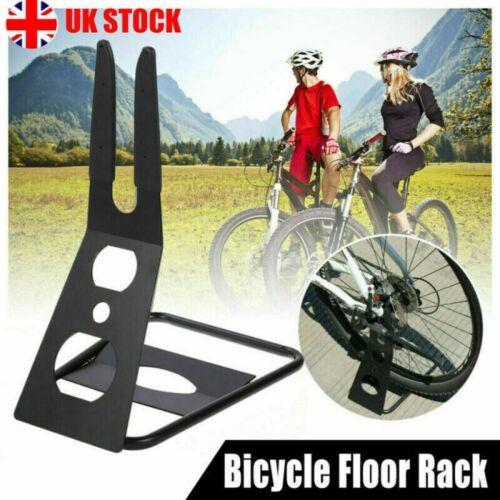 Road MTB Bike Bicycle Stand Triangle Floor Parking Stand Holder Bike Rack Black