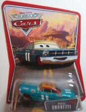 New Disney Pixar CARS MARIO ANDRETTI #22 WOC Desert Card World of