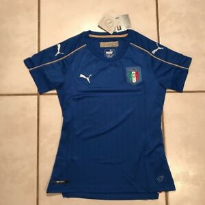 NWT PUMA FIGC Italy National Team Jersey Women s Small MSRP  80.00 ... 0ca346c6f1