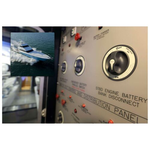 Blue Sea 3000 HD-Series Heavy Duty On Off Battery Switch DC Marine Boat 2 Pos