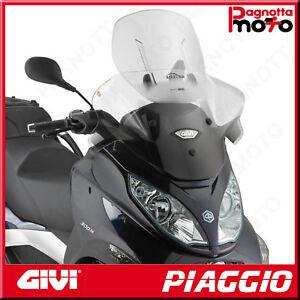 PARABREZZA SCORREVOLE AIRFLOW TRASPARENTE 67 X 65 PIAGGIO MP3 TOURING 400 2011