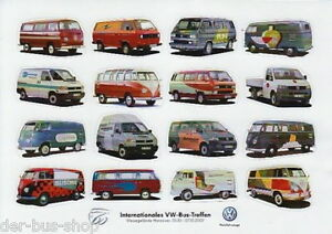vw bus 60 jahre treffen hannover 2 aufkleber 16. Black Bedroom Furniture Sets. Home Design Ideas
