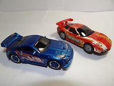 2 Carrera  GO Slot Cars Nissan 350Z Tuner & 2002 Corvette C5-R ( Fire Breather )