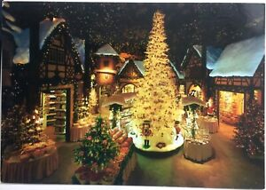Christmas Village In Germany.Details About Kathe Wohlfahrt Rothenburg Christmas Village Germany Vintage Postcard B32f