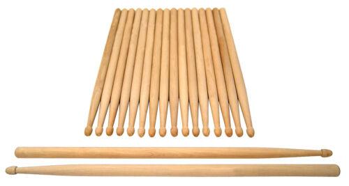 10er Pack Ahorn Drumsticks Schlagzeug Stöcke 5B vom großen Musikfachhandel NEU