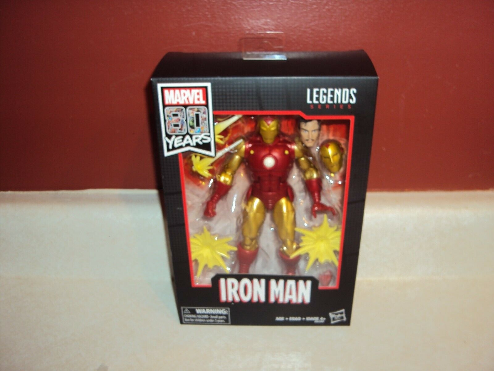 MARVEL LEGENDS SERIES 80 YEARS IRON MAN 2019 SDCC 6  FIGURE NEW SEALED IN HAND