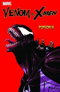 Venom-amp-X-MEN-Poison-x-VARIANT-COVER-222-PANINI-tedesco-Merce-Nuova