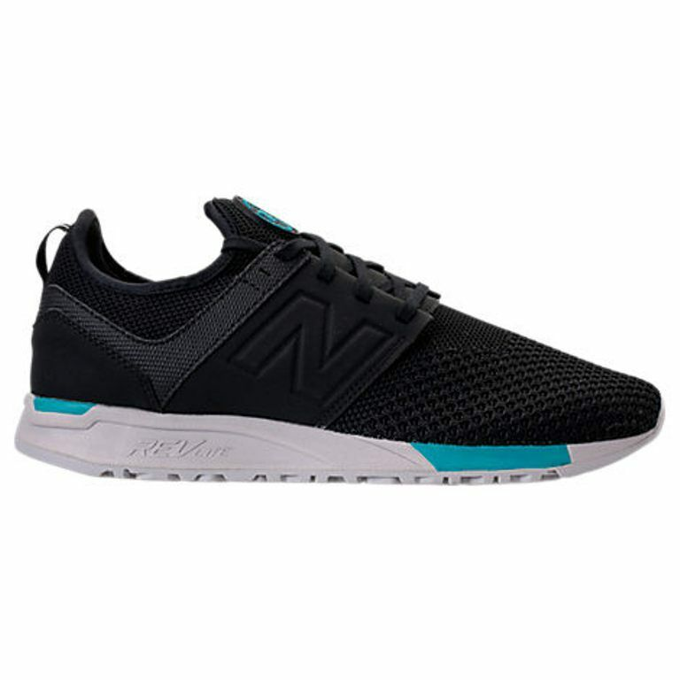 NEW BALANCE 247 KNIT BLACK/GREY CASUAL SHOES MEN'S SELECT YOUR SIZE