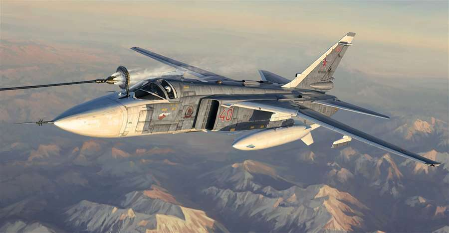 Trumpeter 1 72 Su-24M Fencer-D  New ReleaseSealed