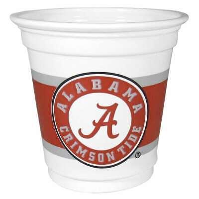 Sleeve of 18 cups NCAA Alabama Crimson Tide Game Day Cups 18-Ounce