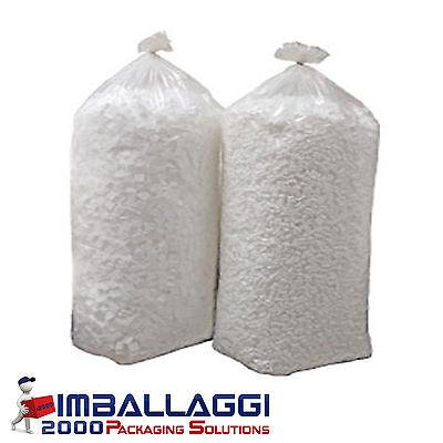 Polistirolo in perle riempimento pouf puf sacco da 200 litri
