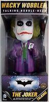 Talking The Joker Heath Ledger Batman Dark Knight Trilogy Bobble Head Funko 2013