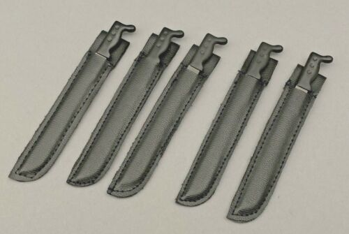 "5 21ST CENTURY TOYS MACHETES WITH BLACK SHEATHS FOR 1//6TH SCALE OR 12/"" FIGURES"