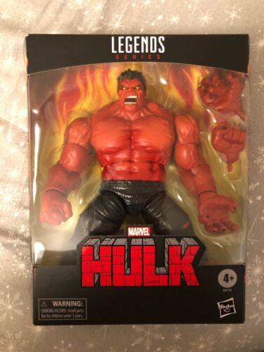 difficile à trouver! MARVEL LEGENDS Red Hulk TARGET EXCLUSIVE NEW YORK COMIC avec 2020 Neuf dans la main