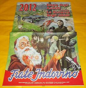 Calendario Frate Indovino Ebay.Dettagli Su Frate Indovino Calendario Anno 2012 Elogio Degli Asinelli Ovvero