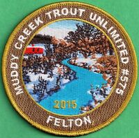 Pa Pennsylvavnia Fish Game Commission 2015 Muddy Creek Trout Unlimited Patch