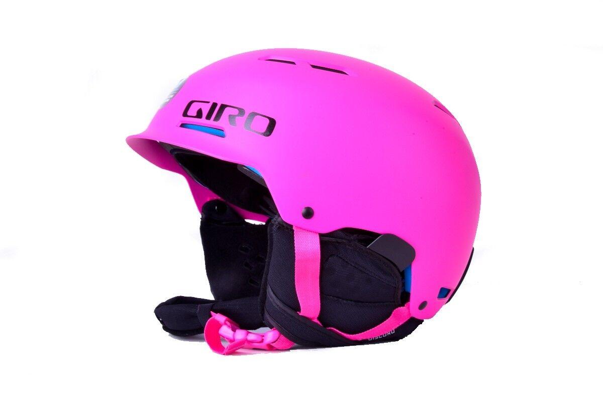 Giro Snowboardhelm Skihelm Discord pink Soft Shell Construction matt