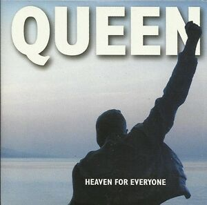 Queen-CD-Single-Heaven-For-Everyone-Europe-EX-M