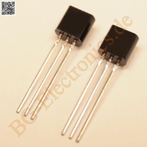 5 x 2SC1627    300mA 600mW 80V Toshiba  TO-92 5pcs