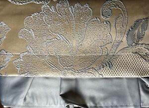 Croscill White Label Sterling Rose Jacquard Tailored