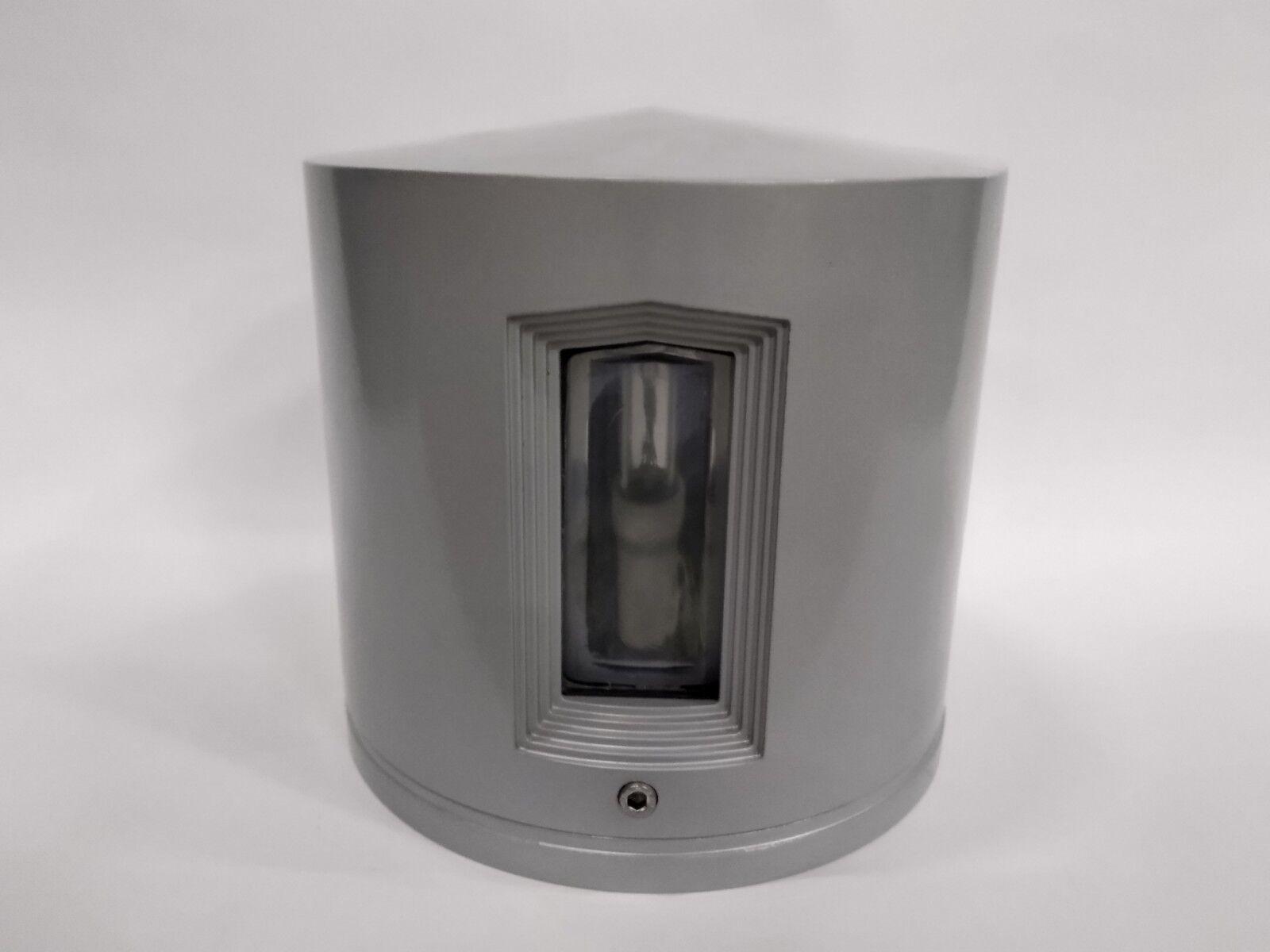 Applique blitz simes s4082.14 in alluminio e vetro e27 e27 e27 100w