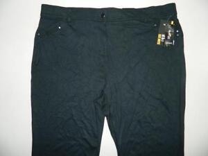 5bbd456f1c3 Style co. Women s Plus Slim Leg Tummy Control Pants NWT Size 24W X ...