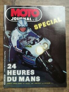 Moto Journal Nº 551 Spécial / 8 Avril 1982