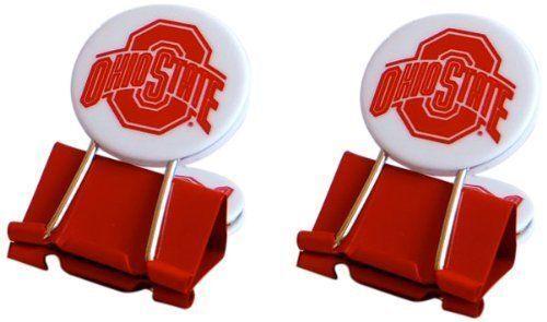 Ohio State University Buckeyes My Fan Clip All Purpose 2 Per Package Jim Kelly